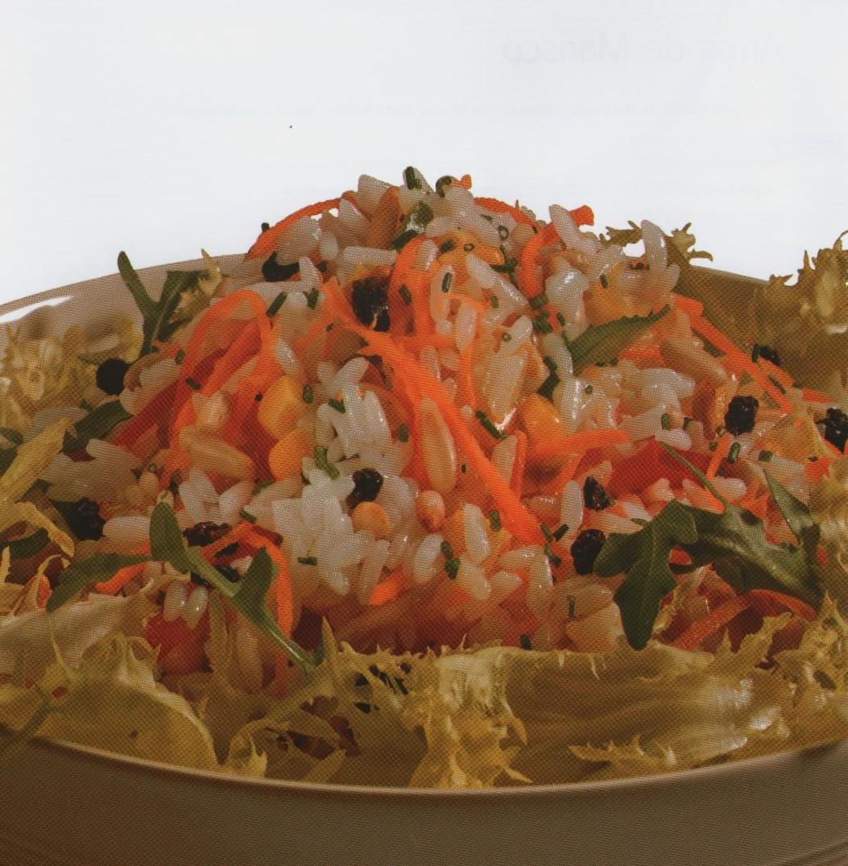 Salada de Arroz Carolino à Americana